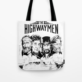 the highwaymen tour 2020 2021 ngapril Tote Bag
