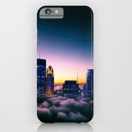 Minneapolis Above the Clouds iPhone Case