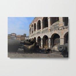 Arena di Verona Metal Print