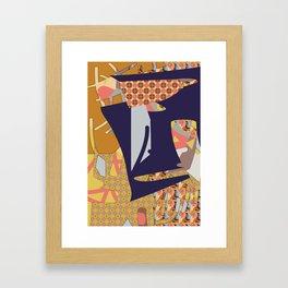 Cross Continental 2 Framed Art Print
