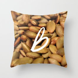 Recettes du Bonheur - foodies Throw Pillow
