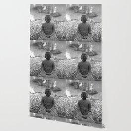 Sitting Buddha Wallpaper