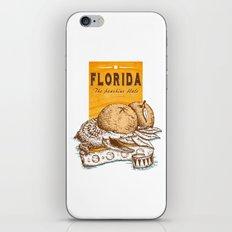 Florida 2 iPhone & iPod Skin