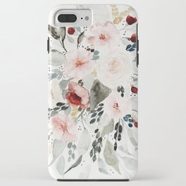 Loose Watercolor Bouquet iPhone Case