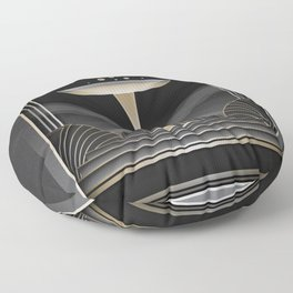 Art deco design VI Floor Pillow