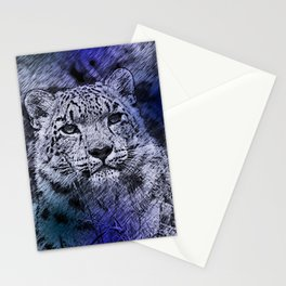 Leopard20151204 Stationery Cards