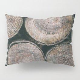 Log Ends Pillow Sham