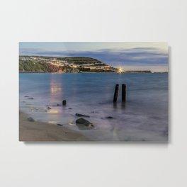 New Quay, Cardigan bay, Wales. Metal Print
