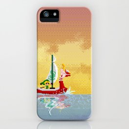 Pixelized : Wind Waker  iPhone Case