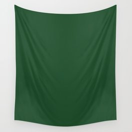 Cal Poly Pomona Green - solid color Wall Tapestry