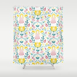 Swedish summer Shower Curtain