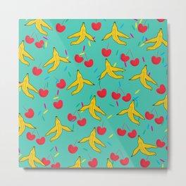 Banana Split Metal Print
