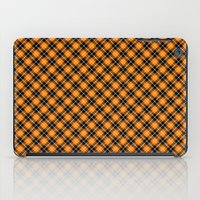 beaver iPad Cases featuring Beaver Plaid by Bob Greenwade
