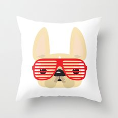 Shutter Shades Throw Pillow
