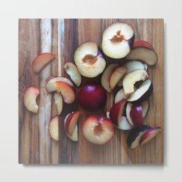 Fruit | Plum (2) Metal Print