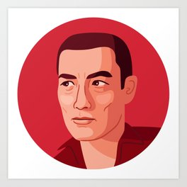 Queer Portrait - Yukio Mishima Art Print
