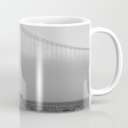 Tug at a wall of fog  - NYC Coffee Mug