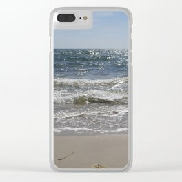 Sparkling Sea Clear iPhone Case