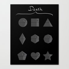 Sith geometry lessons Canvas Print