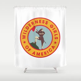 Wilderness Girls of America Shower Curtain