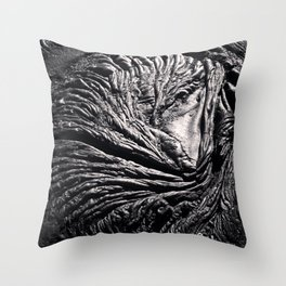 Abstract Earth II Throw Pillow