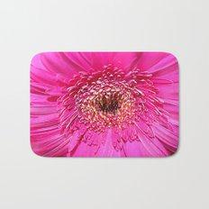Pink Gerber Daisy Bath Mat