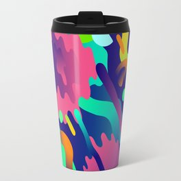 Splash Pattern Travel Mug