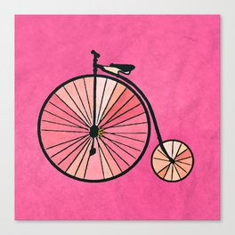 Old bicycle Canvas Print