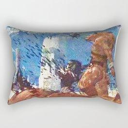 Killing werewolf Rectangular Pillow