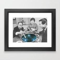 Stars soup Framed Art Print