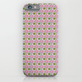 Preppy Snowflakes - larger scale iPhone Case