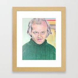jack torrance Framed Art Print