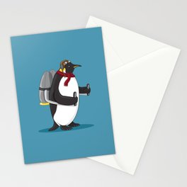 Fowl in Flight Stationery Cards