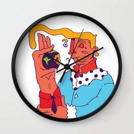 Hoping the world won't suffer too much Wall Clock