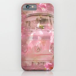 DESTINATION CHERRY BLOSSOM ROAD iPhone Case