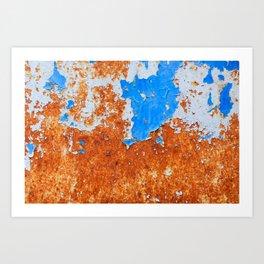 rust textures Art Print