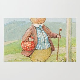 Pigling Bland By Beatrix Potter Rug