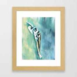 lost in depth Framed Art Print