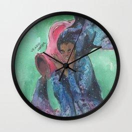 zodiac aquarius Wall Clock