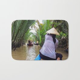 Tributary of the Mekong Delta Bath Mat