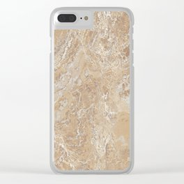Marble Texture Surface 09 Clear iPhone Case