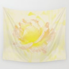 Rose Golden Wall Tapestry