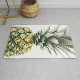 Pineapple Close-Up Rug
