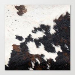 Brown Cowhide Canvas Print