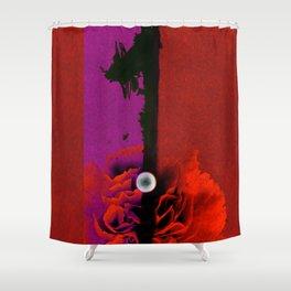Garnet One Shower Curtain
