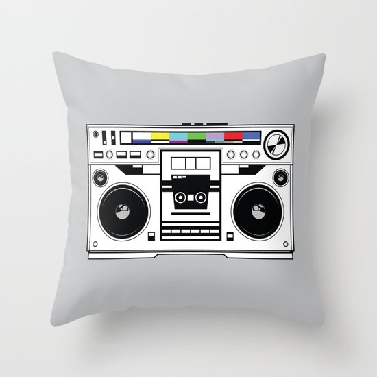 1 kHz #1 Throw Pillow