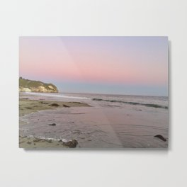 Pastel Sunset at Avila Beach Metal Print