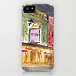 The Prom on Broadway iPhone Case