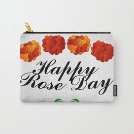 Happy Rose day february 7th- valentine month Carry-All Pouch