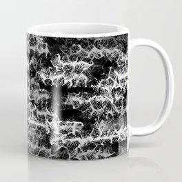 Spidery Lines Inverse Coffee Mug